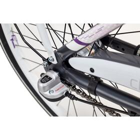 s'cool chiX 24 3-S Juniorcykel Barn alloy grå/violett